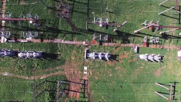 Anlage für elektrische Energie in Landschaft