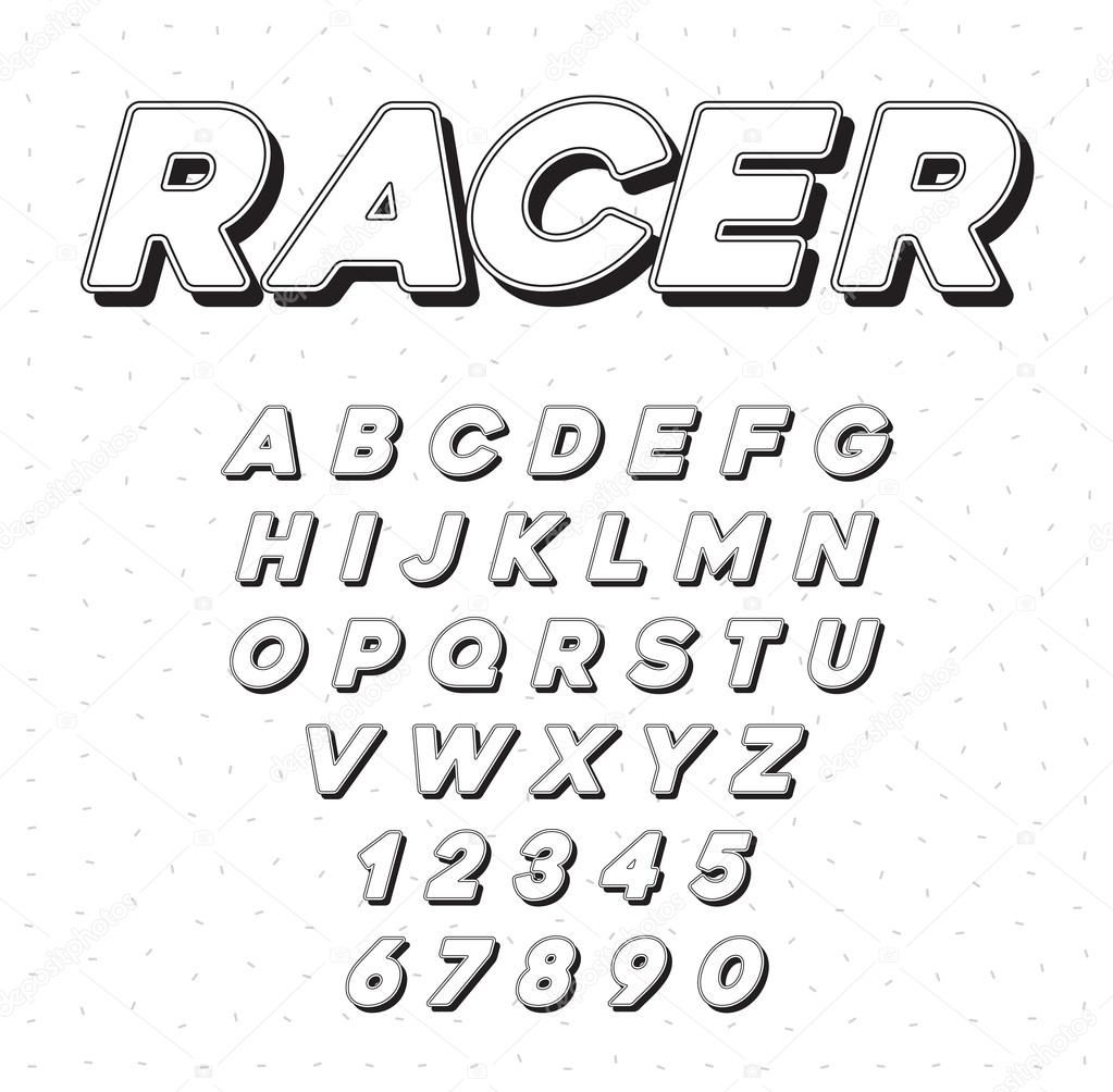 writing a letter using race car jargon