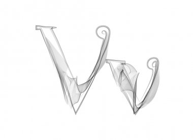 Smoke or Haze Letters V