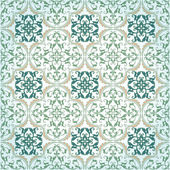 Fotografie Seamless Damask Background Pattern