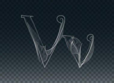 Smoke or Haze Letters V