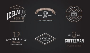 Coffee Logotype Templates and Coffee Accessories