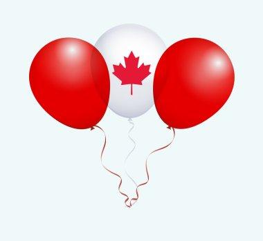 Canada National Flag Balloons