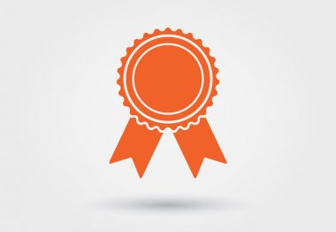 Pictogram icon for award