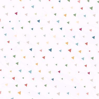 Vintage Polka Dots Triangles