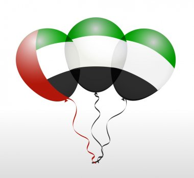 UAE National Flag Balloons