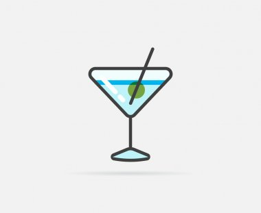 Cocktail Logo or Icon