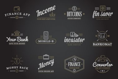 Set of Finance Money Icons
