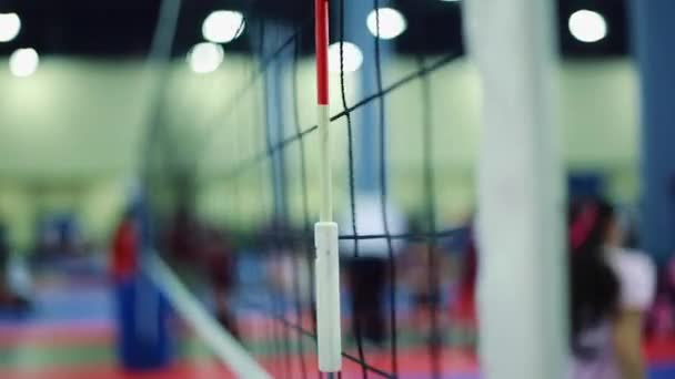 Indoor volleyball net Stock Videos, Royalty Free Indoor volleyball ...