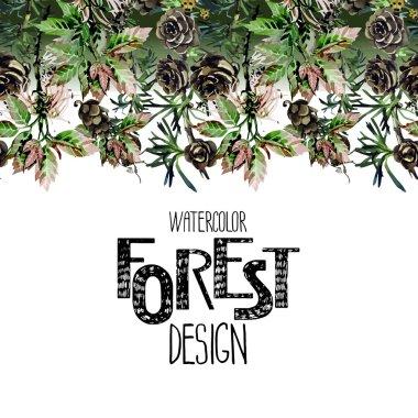 Endless forest design