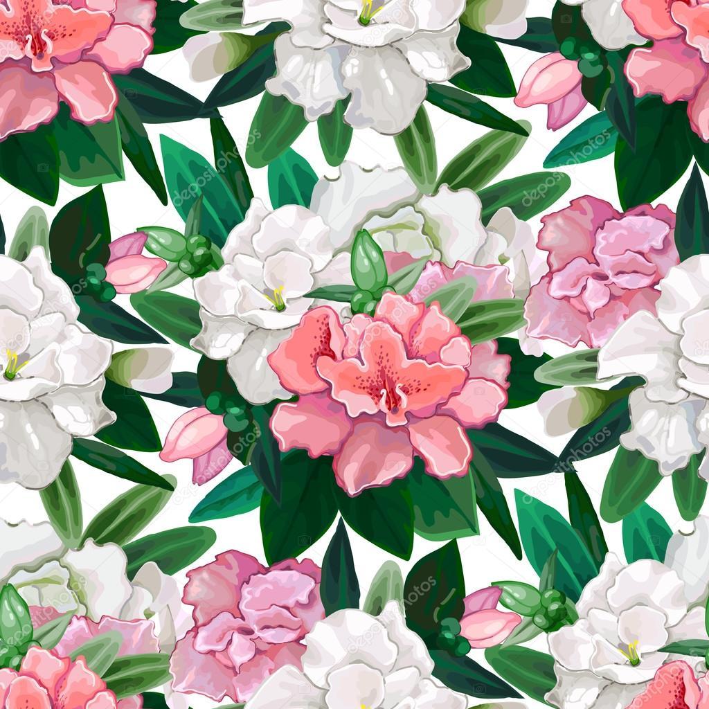Gentle azalea  pattern