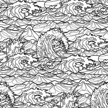 Ocean waves  pattern