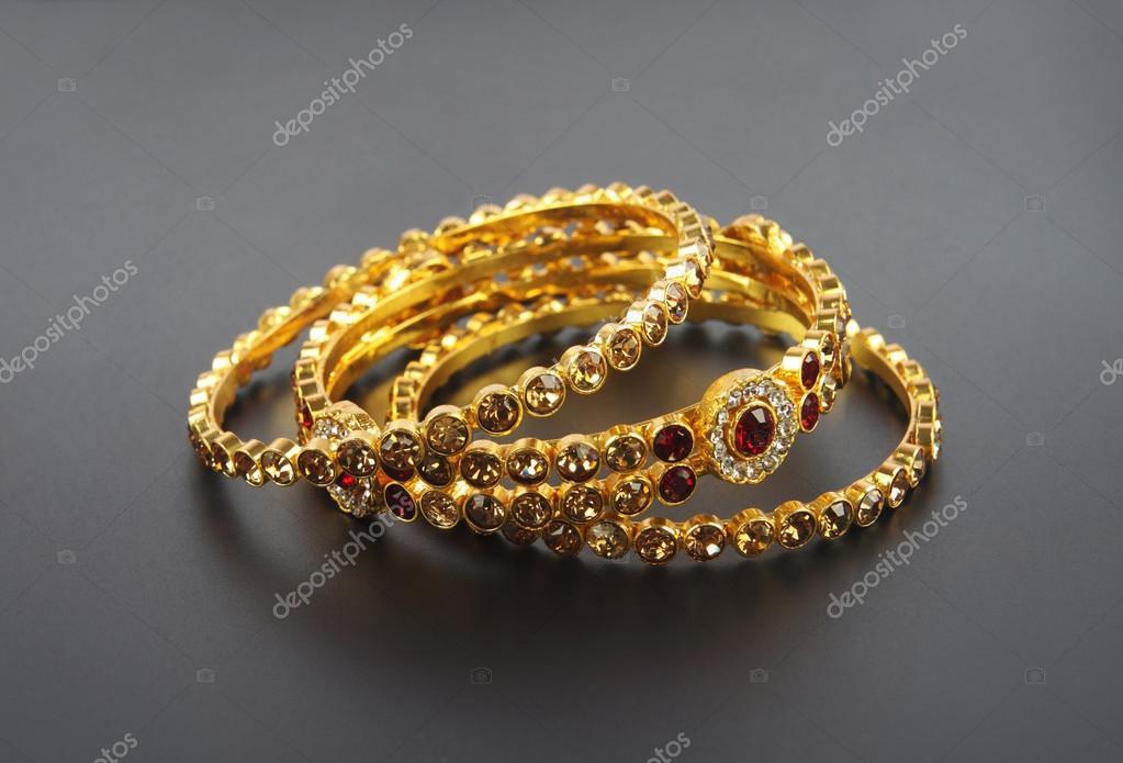 Wedding Gold Traditional Bangles Stock Photo C Shyamala 104167558
