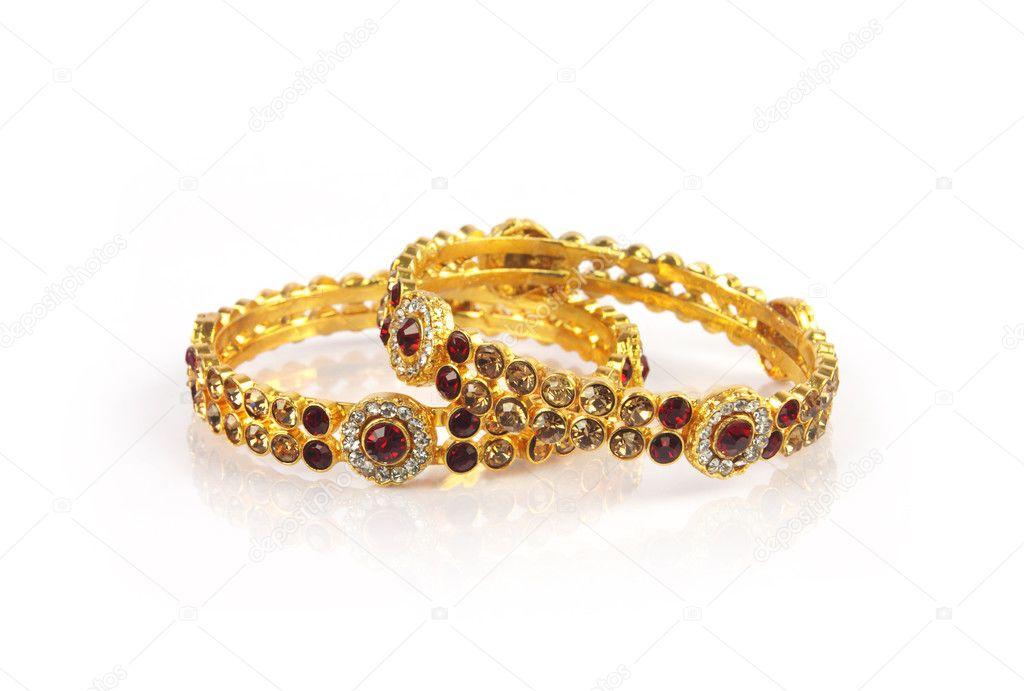 Wedding Gold Traditional Bangles Stock Photo C Shyamala 104167706