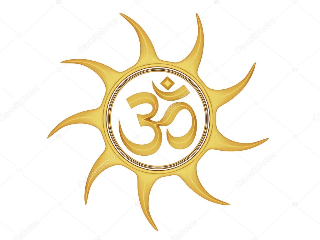 Hindu Religious Om Symbol Stock Photo Shyamala 88705714
