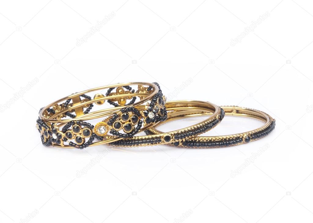 Indian Gold Bangles — Stock Photo © shyamala #89989730