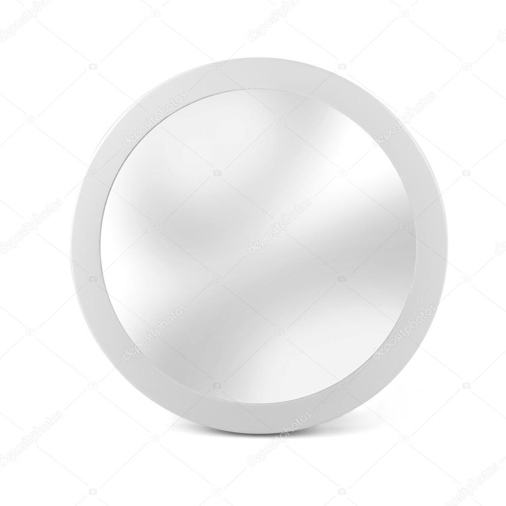 Espejo Marco Blanco Espejo Marco Blanco Tonos Pastel