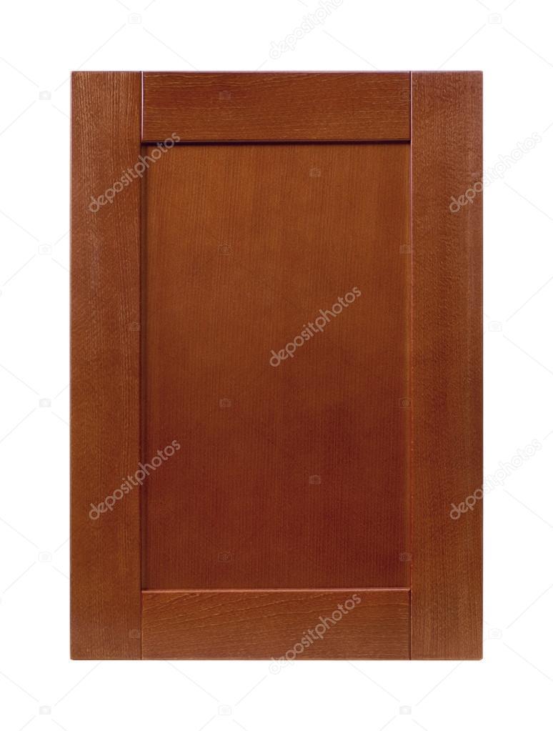 porte de placard cuisine avant cadre bois isol e sur blanc photographie lindo12345 94896822. Black Bedroom Furniture Sets. Home Design Ideas