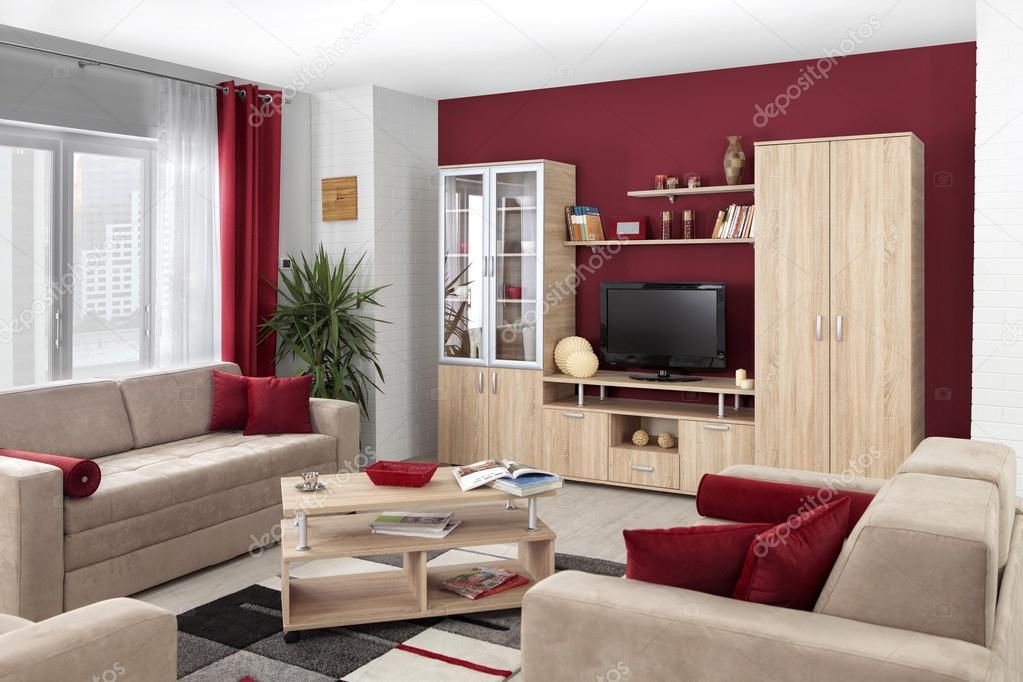modern kleur woonkamer. Black Bedroom Furniture Sets. Home Design Ideas