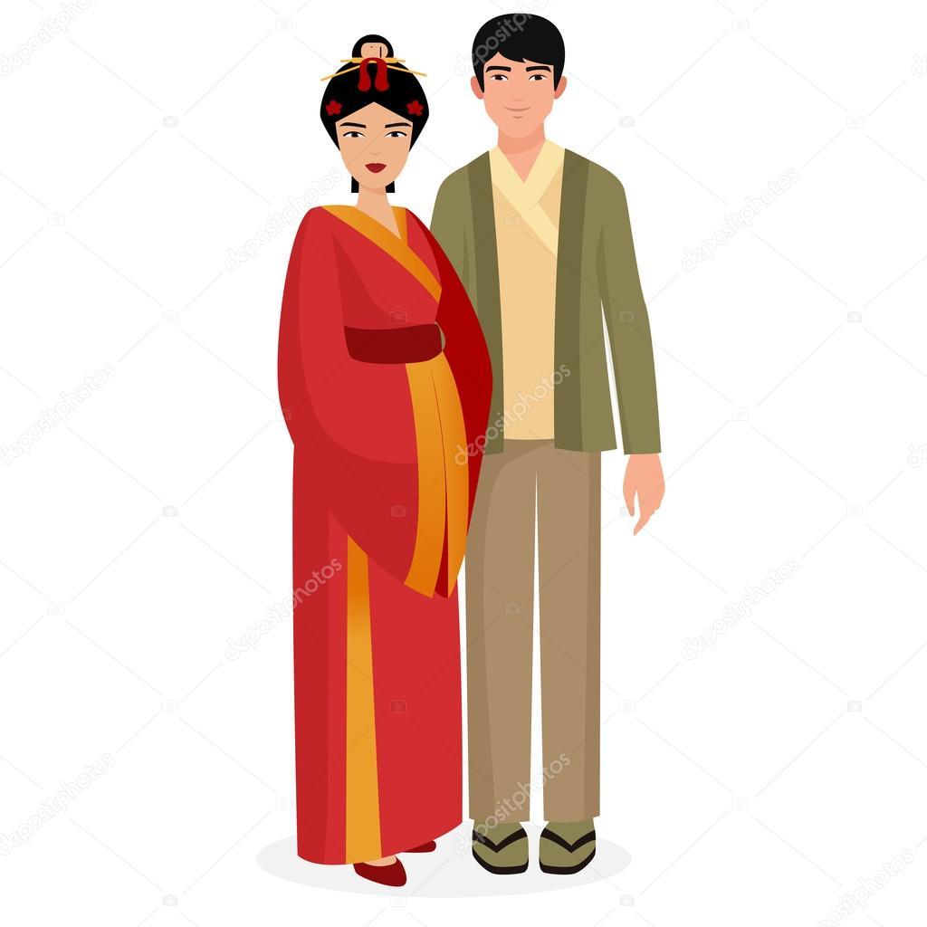 953a5f1f9 Imágenes: familia tradicional japonesa | Familia japonesa. Pareja ...