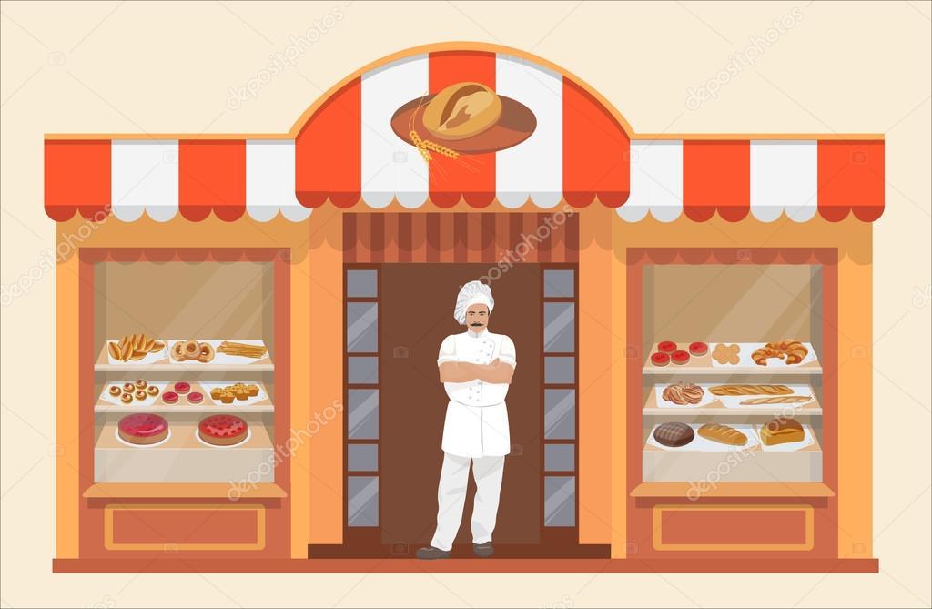 Taller De Panadería Con Productos De Panadería Y