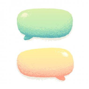 Cute talking bubbles