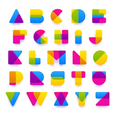 Latin letters from A to Z.