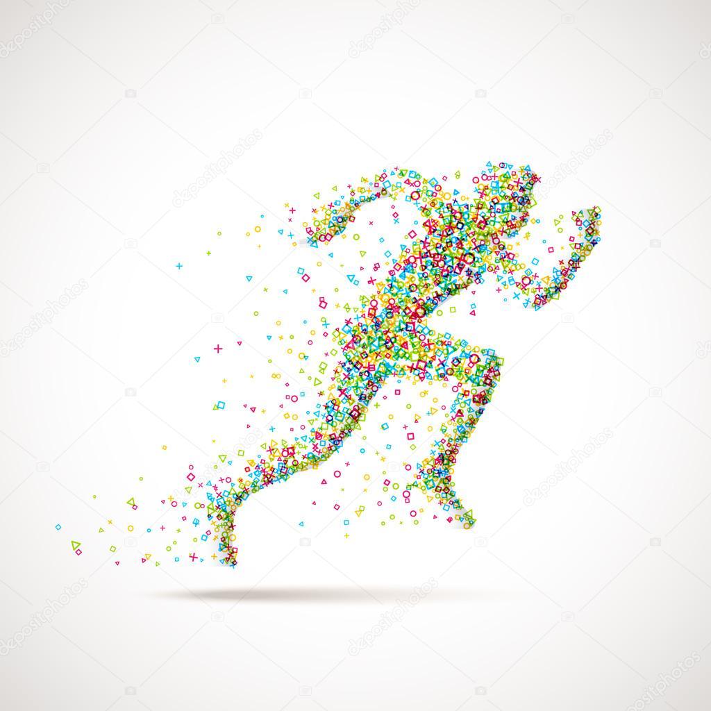 Рисунки из частиц
