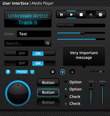 interface media player