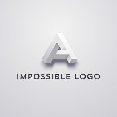 impossible logo optical illusion