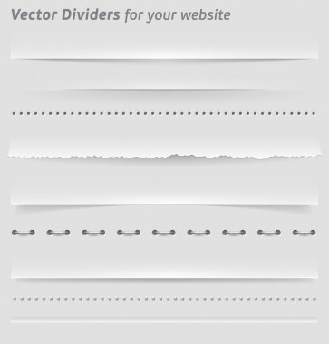 Dividers and Horizontal Rules