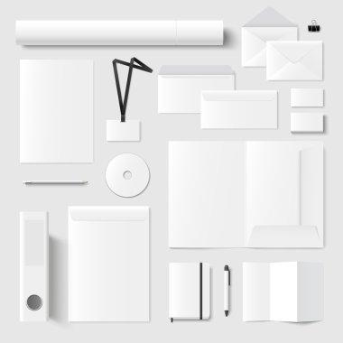 Printing materials template