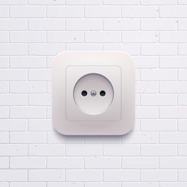 electric white socket