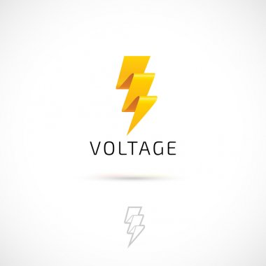 yellow voltage icon