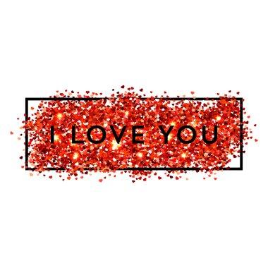 Valentines day glitters