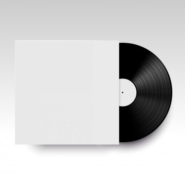vinyl disc with its cover