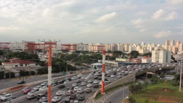 Vysoké návštěvnosti v Sao Paulo, Brazílie