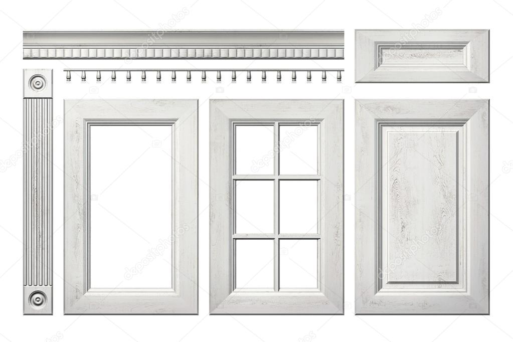 Front Collection Of Old Wooden Door Drawer Column Cornice For