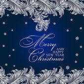 Poszter kellemes karácsonyi ünnepeket és boldog új évet