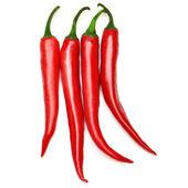 červené chilli papričky