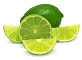 Fotografie Citrus lime fruit and slices