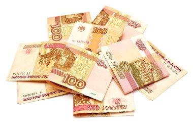 Russian money rubles