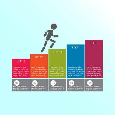 Design for business steps options diagram