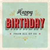Všechno nejlepší k narozeninám od nás všech