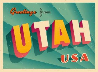 Touristic Greeting Card