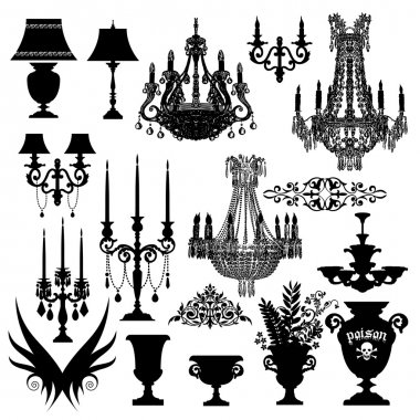 Baroque elements for desiners