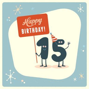 Funny 15th birthday Card