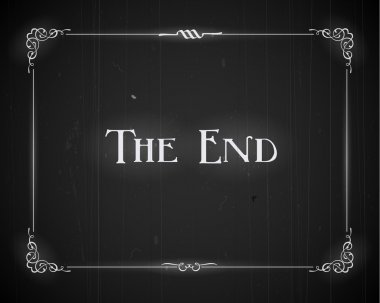 Movie ending screen