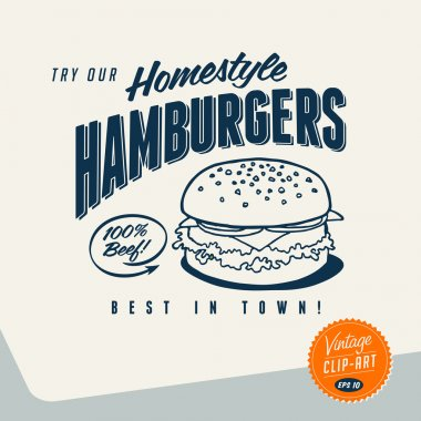 Try Our Homestyle Hamburgers