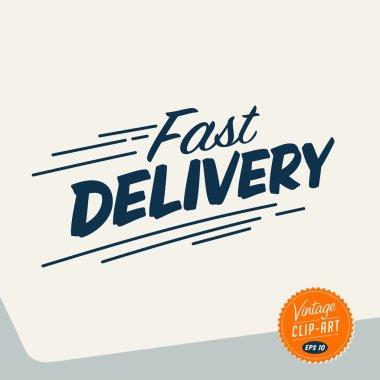 Vintage Clip Art - Fast delivery